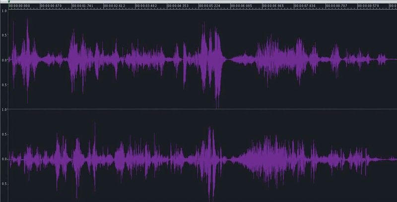 Cofessions-waveform